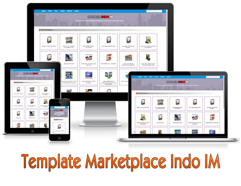 template marketplace Afiliasi