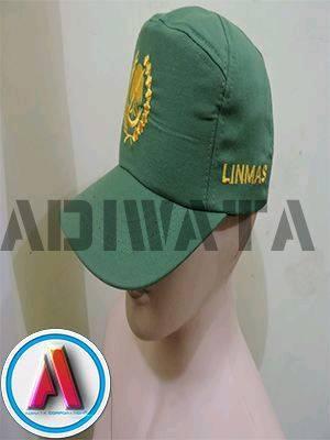 Seragam PDH Linmas Topi
