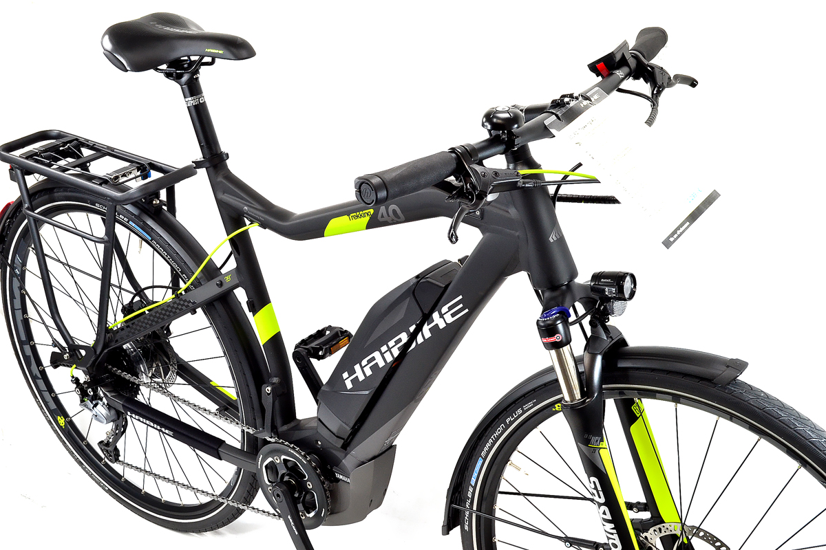 Haibike Herren Trekking 4 0 Elektro Fahrrad Sduro Yamaha