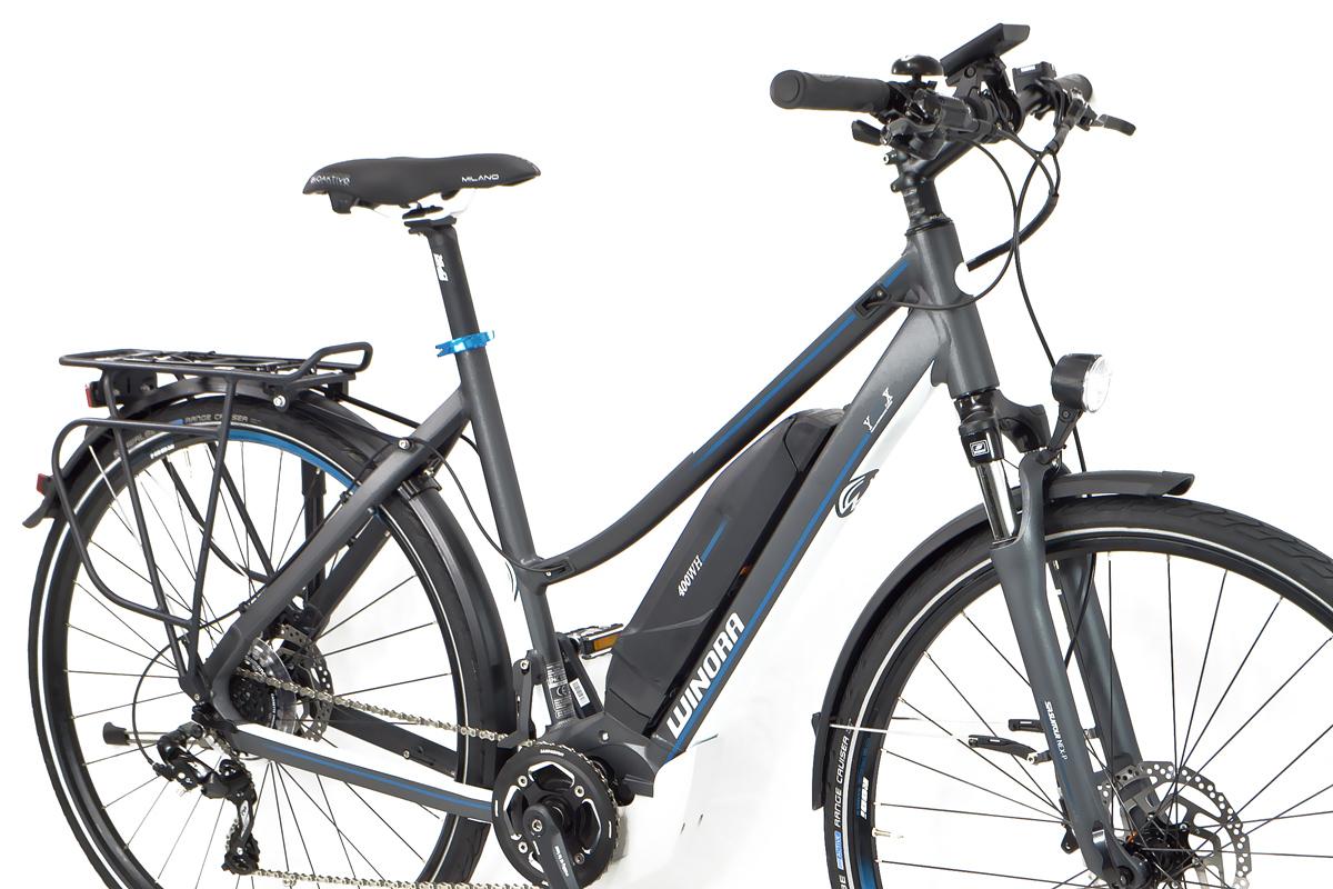 Winora Elektro Damen Trekking Fahrrad Y 280 X Yamaha 400wh