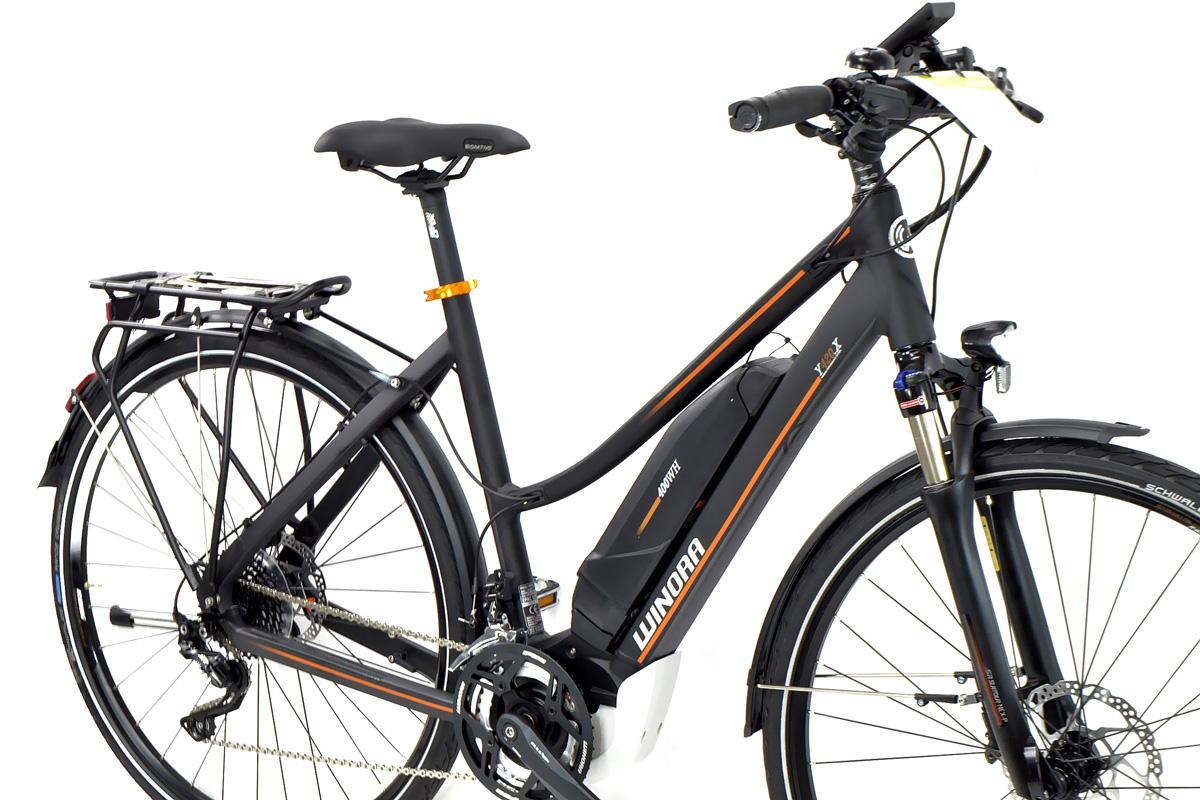 Winora Elektro Damen Trekking Fahrrad Y420 X Yamaha 400wh