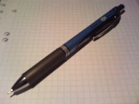 Długopis zwiększający moją produktywność