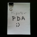 Hipster PDA