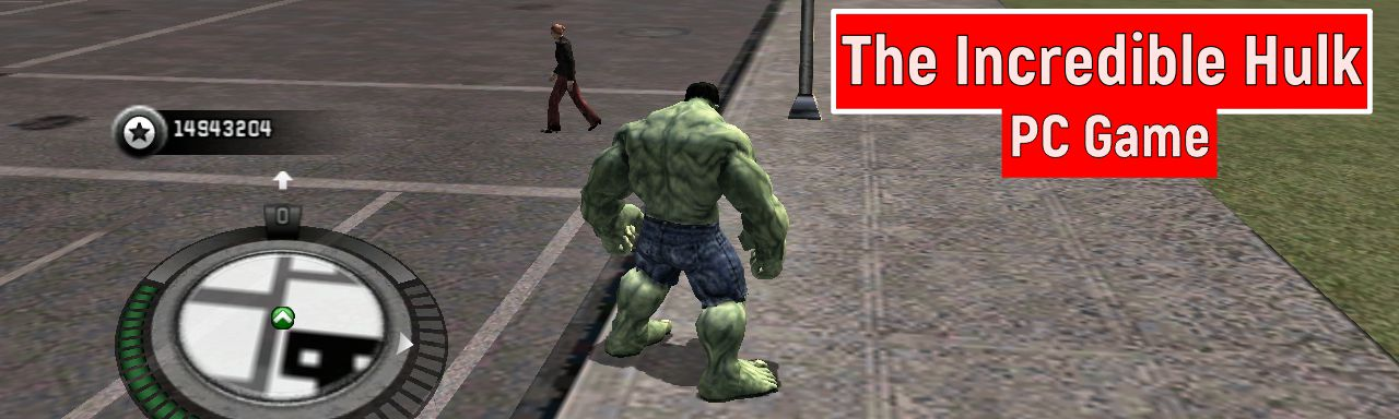 Free Download Game The Incredible HULK (Games For PC) Full