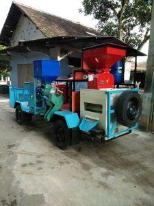 pemasangan saringan menir di Kabupaten Cianjur