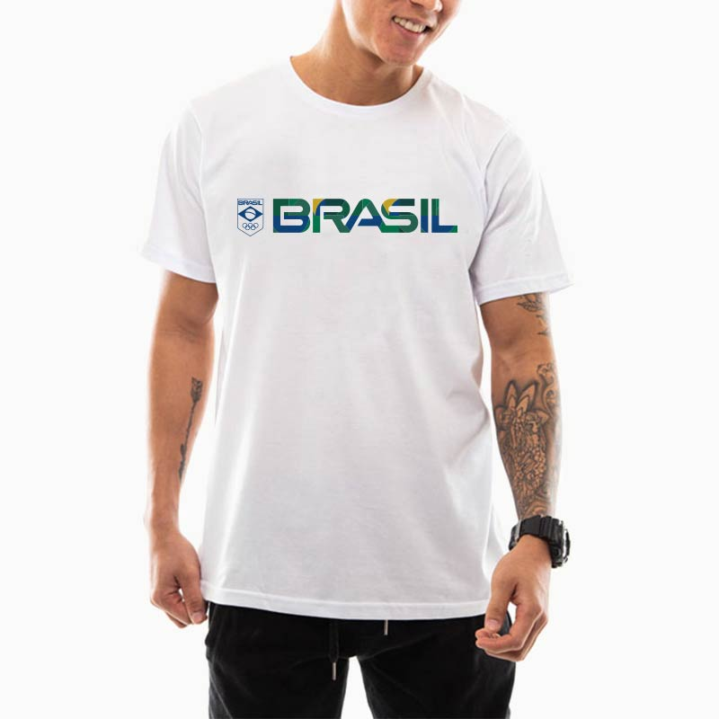 Camiseta-Unissex-Branca-–-100%-Algodão-–-Silk-Textura-Brasil