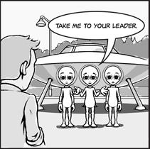 Antithesis Comic Take Me to Your Leader