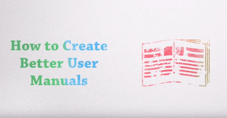 How to Create Better User Manuals Video Poster
