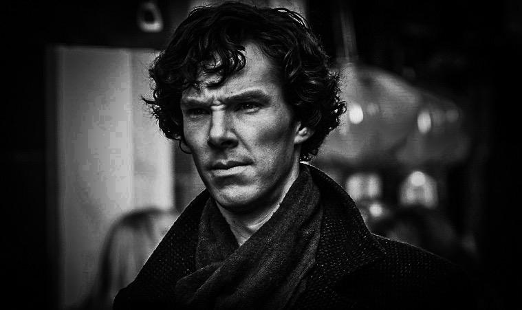 Content Development SEO - Cumberbatch as Sherlock Holmes Dark