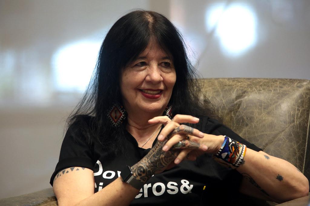 US Poet Laureate Joy Harjo