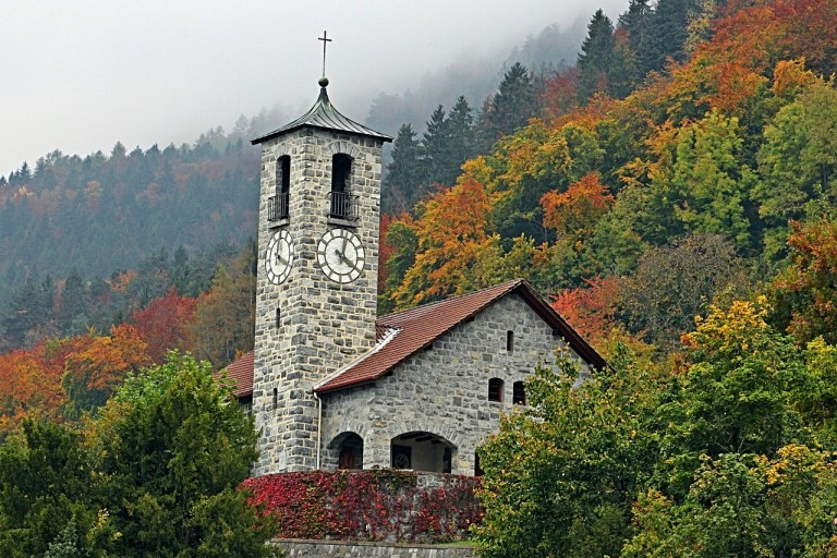Chapel in Autumn