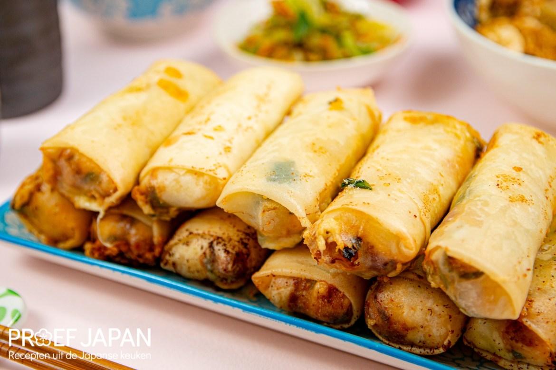 Loempia's uit Okinawa volgens recept van Tokyo Stories.