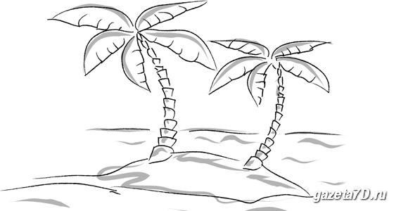 Необитаемый остров  lost