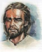 Иисус в простой одежде