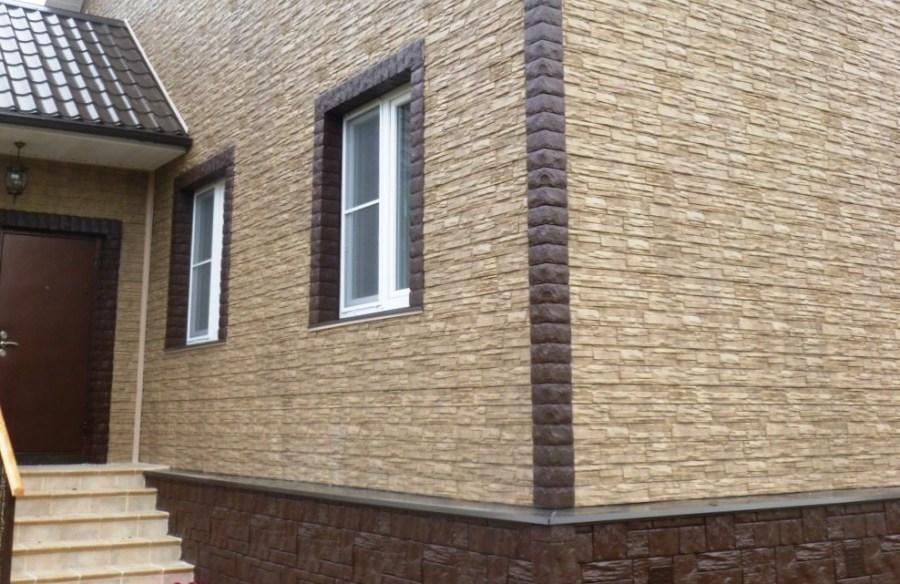 отделка дома фасадными панелями, фасадные панели, отделка фасадными панелями, фасадные панели для наружной отделки