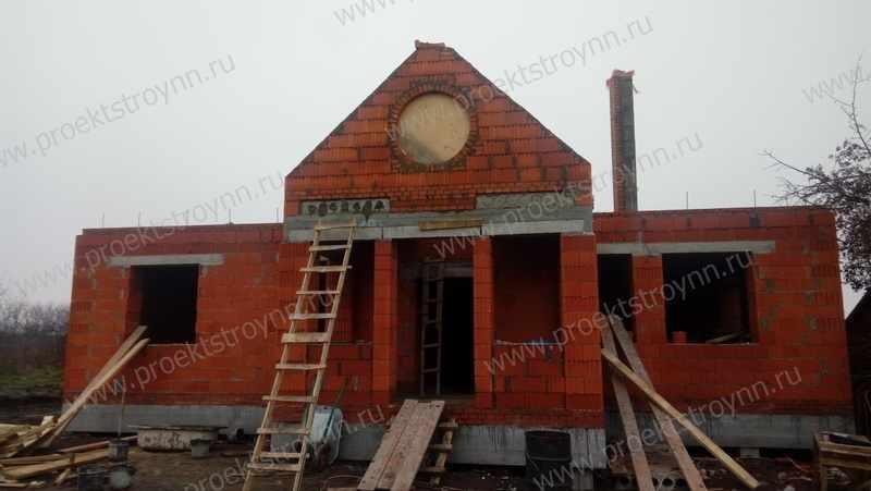дом из керамического блока, кирпичный дом, строительство дома из кирпича, каменный дом строительство