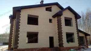 дом кирпичный, строительство кирпичного дома, дом кирпичный дом под ключ, кладка стен из кирпича