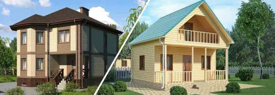 строительство двухэтажного дома или одноэтажного с мансардой