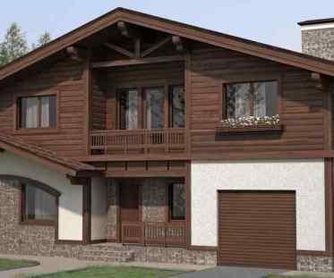 Комбинированный дом, строительство комбинированных домов
