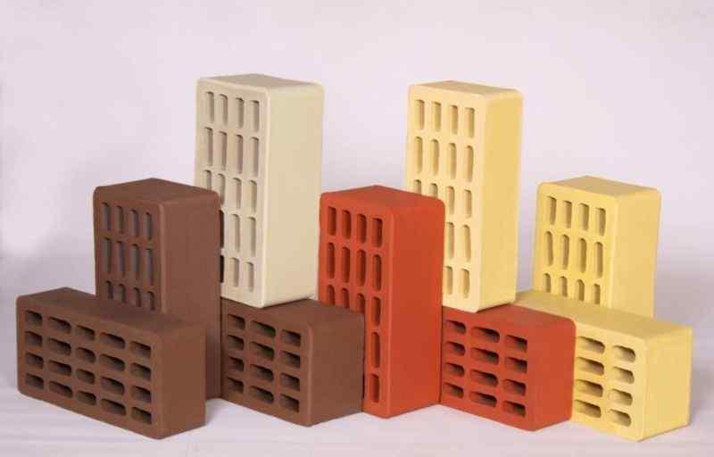 Керамический кирпич, разновидности кирпича