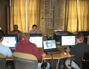 2007 proe surfacing class at design engine education