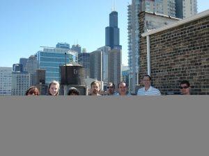 Design-engine rooftop grilling in the Westloop of Chicago