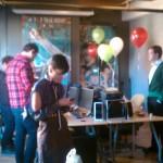 Jealous Magazine Holiday Party Photoshoot at Design Engine Office