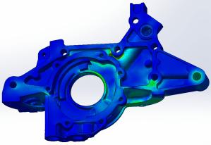 Stress analysis of an automotive Oil Pump