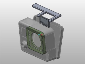Creo Mechanism collision detection GoPro Camera Body