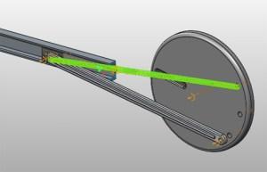 creo mechanism spring force