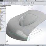 Design-engine solidworks surfacing exercise