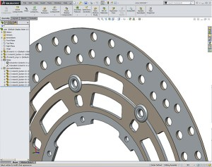 SOLIDWORKS Suzuki Rotor Assembly