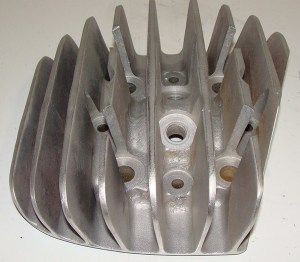 Aluminum Die Cast two stroke cylinder head