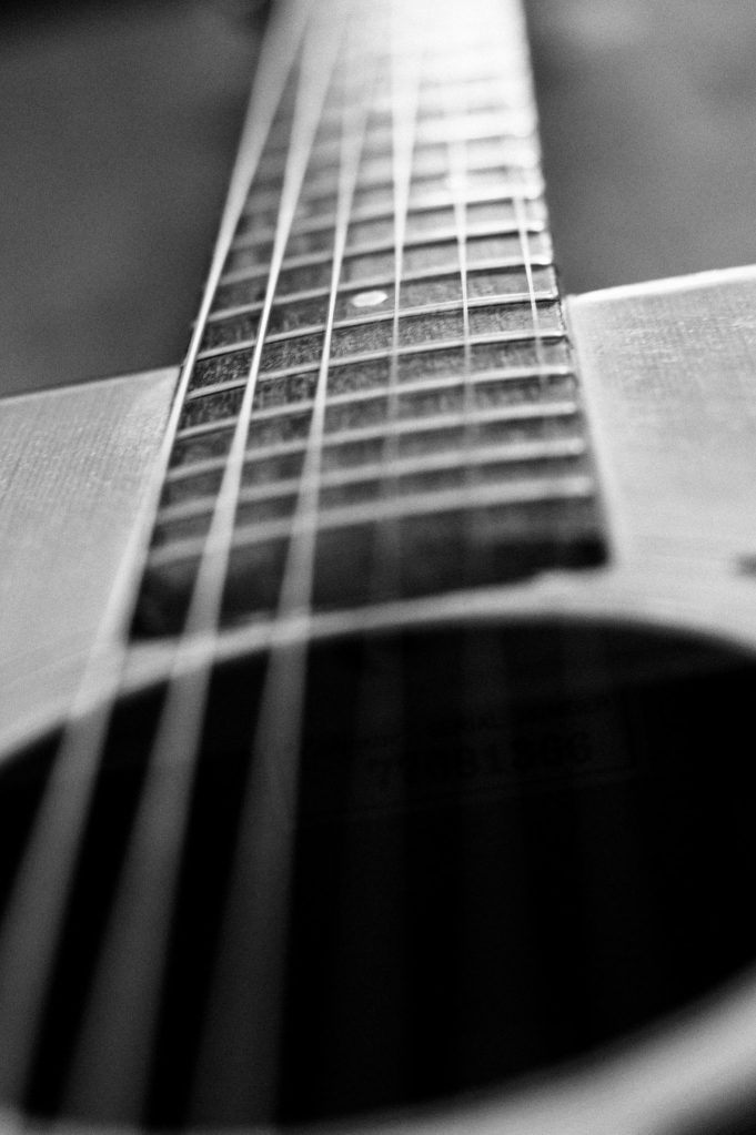 Guitare, jouer de la guitare