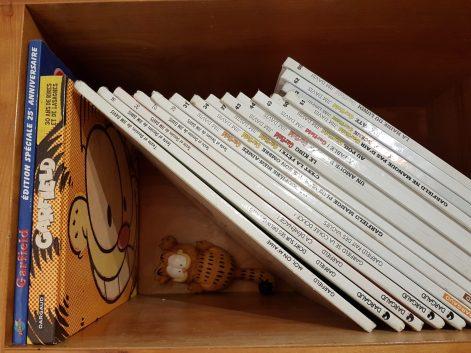 Collection de Garfield. Les 3 livres qui ont changé ma vie. Prof Alternatif.