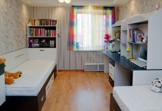 дизайн детской комнаты для девочки 12 квм фото 5