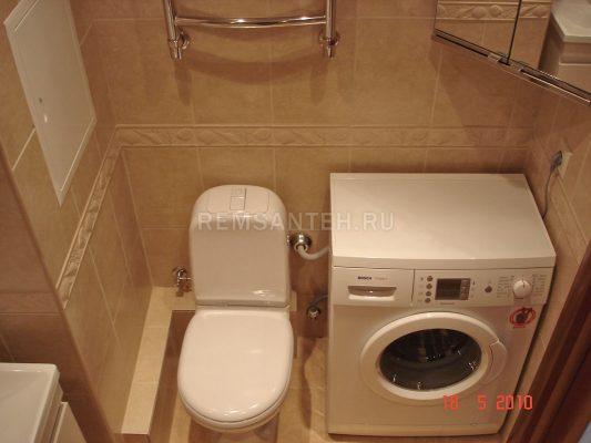 совмещённый санузел с ванной дизайн фото 4 кв м со стиральной машиной 1