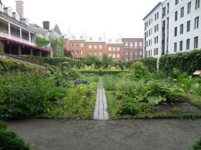 Gardens of Chateau Ramezay