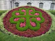 Montreal logo--each petal makes a V & M for Ville Montreal