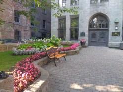 Courtyard of Notre-Dame Basilica