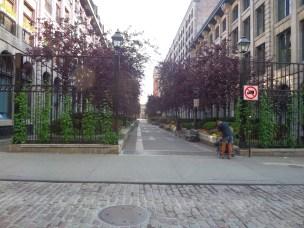 Park across street