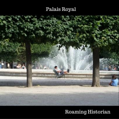 Gardens at Palais Royal