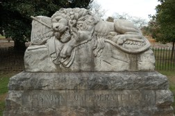 Memorial marking unknown Confederate dead