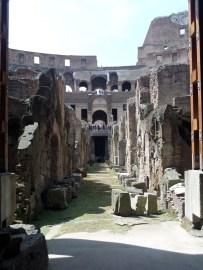 Hypogeum (underground area) at Colosseum