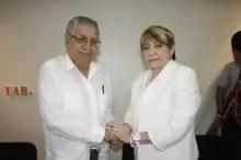 En el acto de entrega recepción, Lara Lagunas tomó poseción de la Secretaría de Educación de Tabasco.