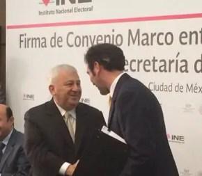 Foto: @INEMexico