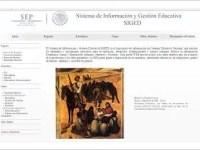 Lanza SEP portal del Sistema de Información y Gestión Educativa.