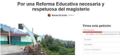 REFORMA EDUCATIVA, PETICIÓN CHAGE_opt