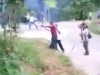 SNTE y CNTE se enfrentan a balazos en Chiapas, hay dos muertos