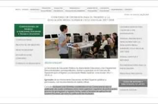Convocatoria para el concurso de plazas docentes en educación media superior 2017-2018